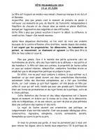 Déclaration du PCF sur la fete de Feugarolles
