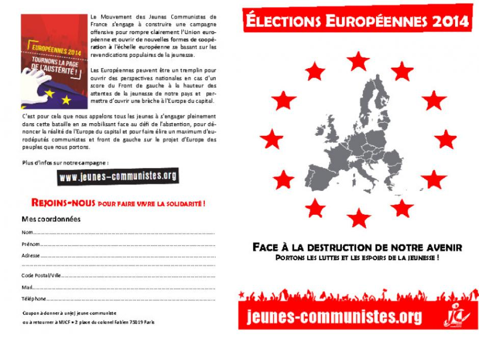 Tracts Nationaux Jeunes Communistes